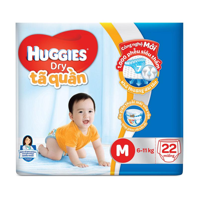 Tã quần Huggies Dry Pants Big Jumbo