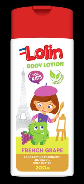 Lolin French Grape Body Lotion