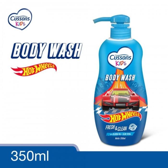 Cussons Kids Body Wash Hot Wheels Fresh & Clean 350 ml