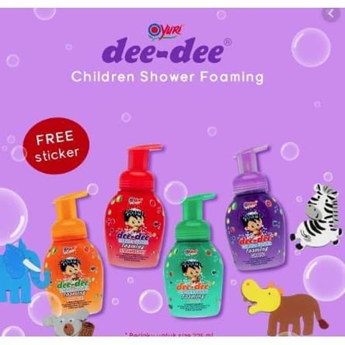 Dee Dee Children Shower Foaming Pump 225 ml