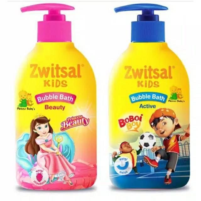Zwitsal Kids Bubble Bath Active