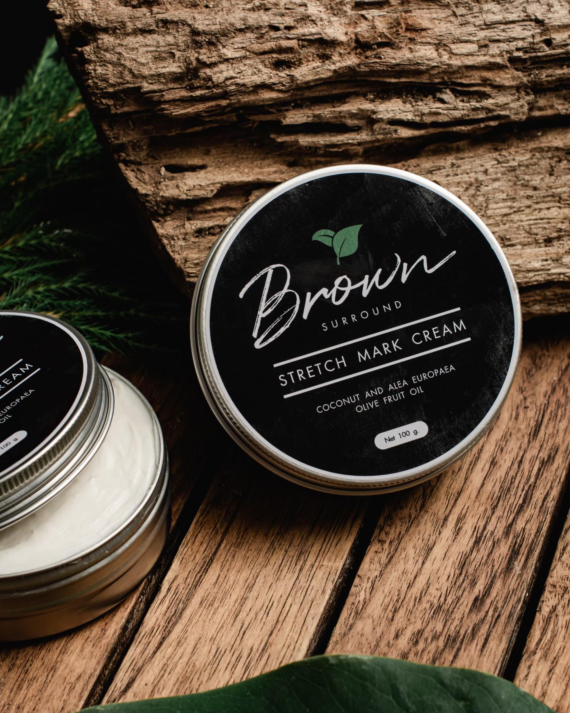 Brown Surround Stretch-mark cream